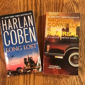 Two paperback novel from two great mystery writers
